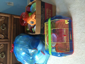Hamster/Mouse cage and supplies