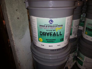 20 LITER PAIL OF PAINT -  DRYFALL