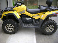 2006 Can Am Outlander 800XT Max  trade for compact Tractor