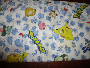 pokemon double flat sheet