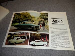 1967 ORIGINAL CHEVY 2 BROCHURE London Ontario image 4