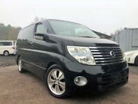 FRESH IMPORT 55 PLATE FACE LIFT NISSAN ELGRAND HIGHWAY STAR 3.5 V6 AUTO 4WD