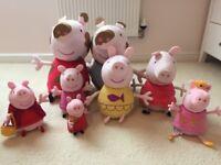 Peppa Pig Soft Toy / Plush Bundle