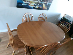 Roxton Dining Table And China Cabinet