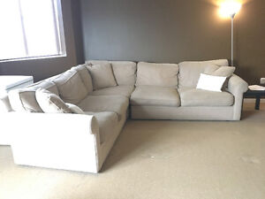 Sectional Sofa (3 sections)