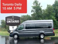 Rideshare OTTAWA to TORONTO Bus Everyday