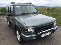 STUNNING LAND ROVER DISCOVERY TD5 XS
