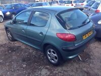 Peugeot 206 petrol moted cheap 250 no offers