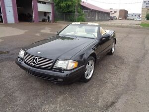 1999 Mercedes-Benz SL 500 Convertible with Both Tops