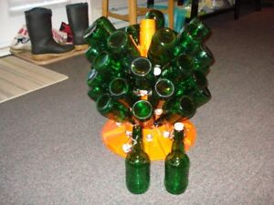 Grolsch swing top beer bottles