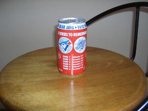 Blue Jays 1992 Coca Cola collector can Cambridge Kitchener Area image 1