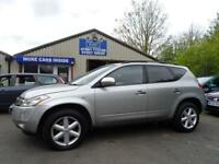 2005 05 NISSAN MURANO 3.5 V6 5 DOOR AUTOMATIC X-TRONIC 231 BHP SAT NAV LEATHER