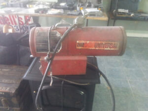 Construction heater   150,000  BTU