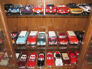 huge collection of 1/18 scale diecast cars and trucks