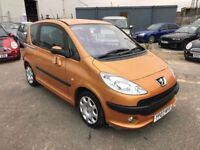 Peugeot 1007 Dolce Semi Auto, *Low Mileage* Electric Doors, Air Con, 12 Month Mot, 3 Month Warranty