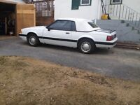 1989 Ford Mustang Convertible original stored in garage