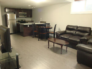 Fully furnished legal suite basement in Timberlea - parsons crek
