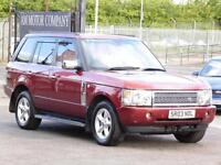 Rover Range Rover 3.0 Td6 Auto 2003, Vogue, Red, 6 Month AA Warranty