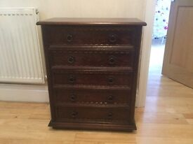 Antique set of drawers, Excellent condition.