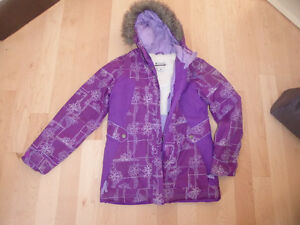 2 girls' winter coats (Columbia, xmtm) size 14, $ 15 ea Kitchener / Waterloo Kitchener Area image 2