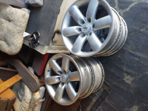 Nissan factory 18 inch rims