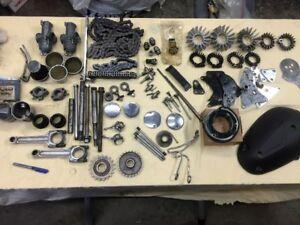 pièces moto Triumph vintage