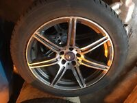 "Mercedes 19"" alloys and tyres, vw Audi transporter t4"