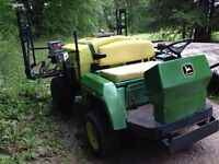 John Deere 1800 gator utility vehicle