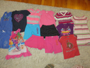 Girl Clothing Lot - Size 5/6 - 14 Items