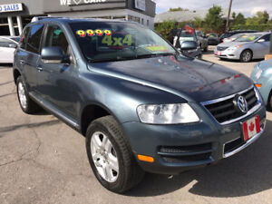 2006 VOLKSWAGEN TOUAREG AWD TECH. PKG. NAVI..LOADED..MINT.