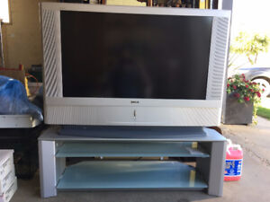 """Sony 42"""" TV and Stand"""