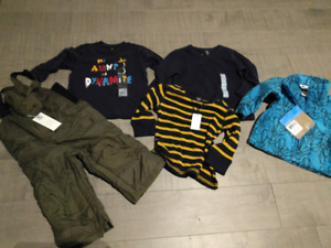 Boy winter clothing and snow pants- brand new with tags