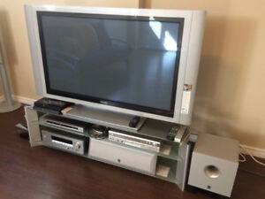 "Phillips 42"" Plasma HDTV with stand"