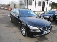 2009 BMW 5 Series 520 Touring 2.0d 177 SE 6 Diesel black Manual