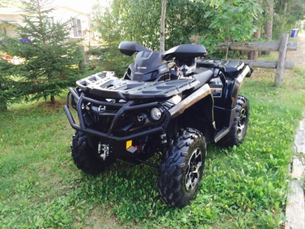 Used 2012 Bombardier Can Am outlander xt 800r