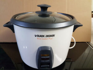 Black & Decker Rice Cooker Plus - Used Once