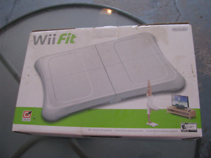 WII FIT BOARD NEW IN BOX SEALED