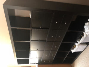 Ikea Kallax 5x5 Storage Unit w/drawers and doors