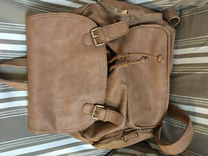 Leather BackPac