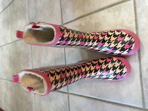Girls Size 13 Rubber Boots