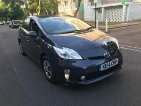 TOYOTA PRIUS 2014 MODEL UK MODEL CAR PCO READY CAMERA BLUTOOTH WARRANTED MILES