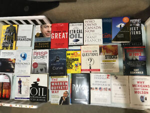 Various Business Books(20 or so)