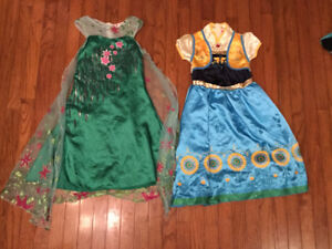 FROZEN FEVER Elsa and Anna Dresses