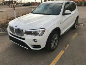 Reduced - white 2015 BMW X3 28i premium package