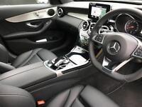 Mercedes-Benz C Class C220 D AMG LINE PREMIUM (white) 2017-04-20