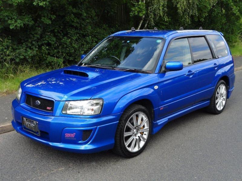 2004 subaru forester 2 5 sti fresh hi grade import in. Black Bedroom Furniture Sets. Home Design Ideas