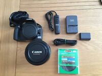 Canon 400D with 17-85mm lens and accessories