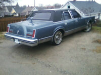 1983 Lincoln Continental mark 6.