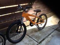Saracen boys bike