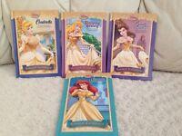 Set of 4 DISNEY Princesses books